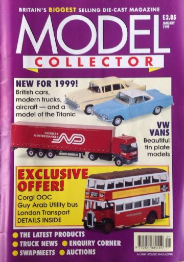 ORIGINAL MODEL COLLECTOR MAGAZINE January 1999
